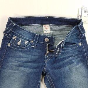 True Religion Skinny Denim Jeans Flap Pocket Pants